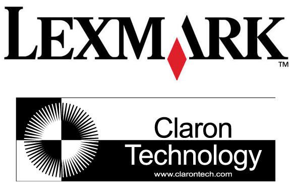 lexmark_claron_merger_sign